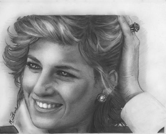 Lady Diana por Mouchene